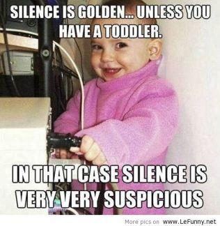 Silence-is-golden-unless